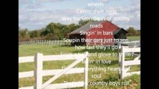 thats how country boys roll billy currington lyrics