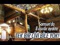 Samsun'da Çivisiz Cami, 8 asırdır ayakta!