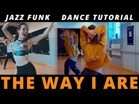 DANCE TUTORIAL / The Way I Are (Dance with Somebody) / Jazz Funk Choreography