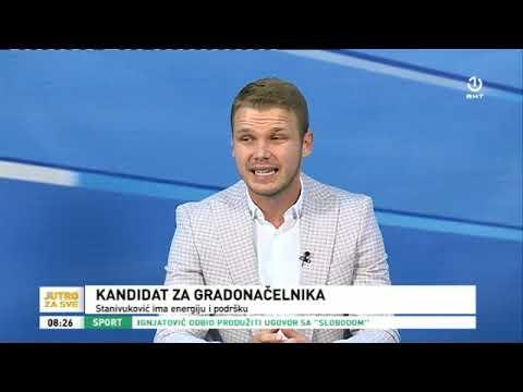 """Gost """"Jutra za sve"""" Draško Stanivuković"""