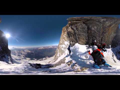 360 Camera | Eiger North Face – Death Bivouac
