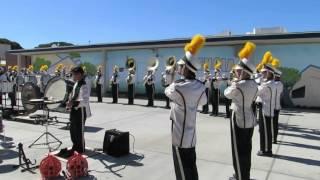 17 rancho alamitos mighty marching band at velancia high school 10 oct 2015