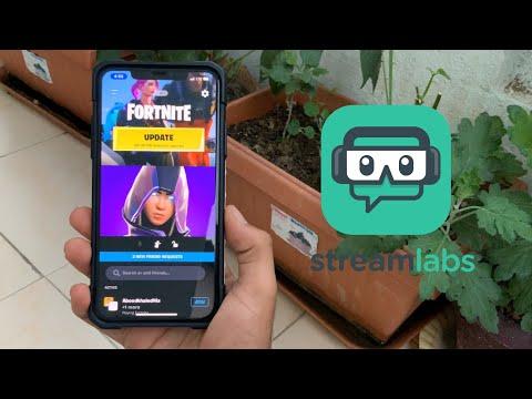 How To Live Stream Through Streamlabs On IPhone & IPad!!