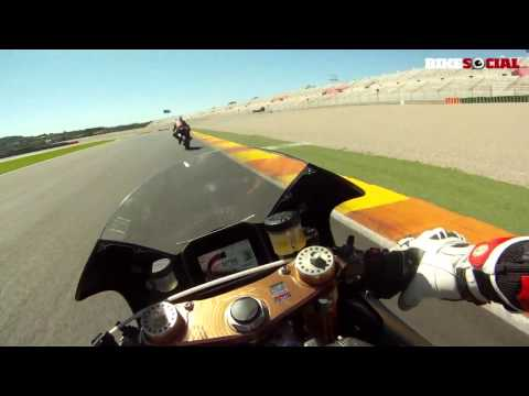 Honda RC213V-S onboard lap at Valencia ¦ Bike Social