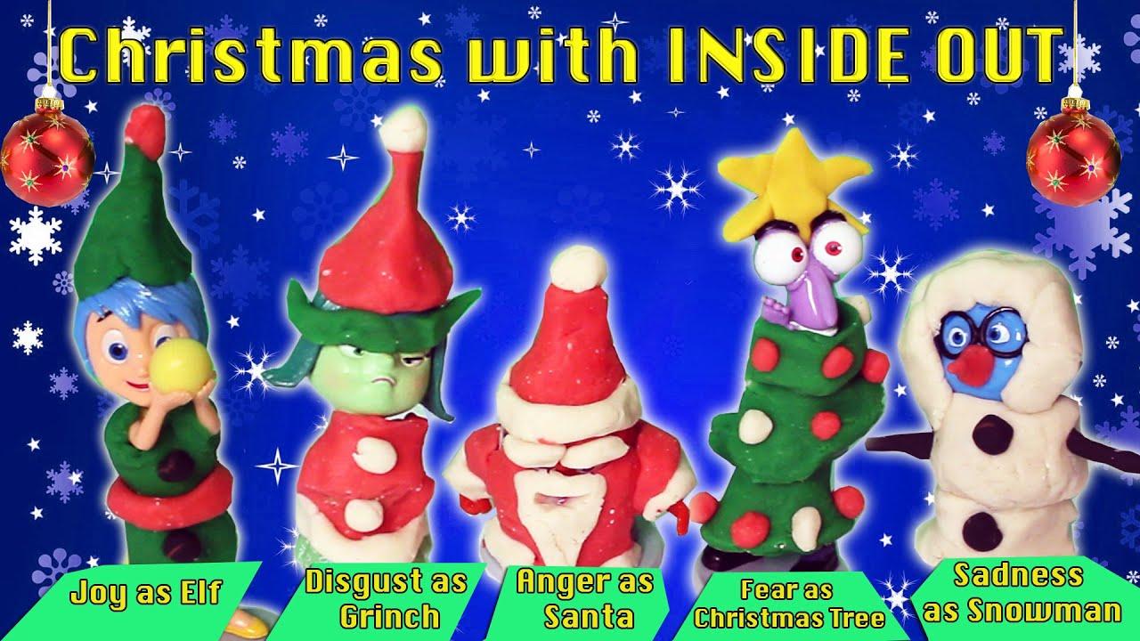 Inside Out | Inside out Christmas Dress up Play Doh Joy Sadness ...