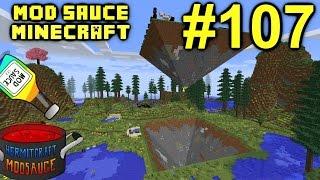Minecraft Mods - Mod Sauce Ep. 107 - MONTAGE & Gaia Fight !!! ( HermitCraft Modded Minecraft )