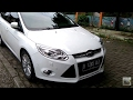 2013 Ford Focus Sedan 2.0 Titanium Start Up & In Depth Review  Indonesia (Part 1)