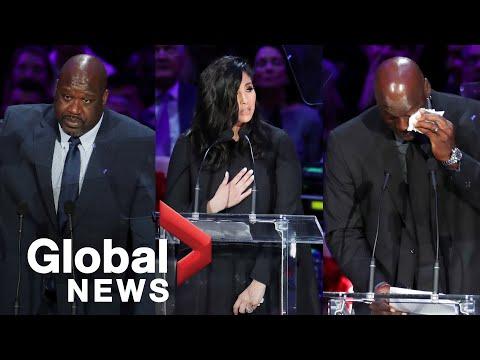 Kobe and Gianna Bryant memorial: Touching tributes from Vanessa Bryant to Michael Jordan