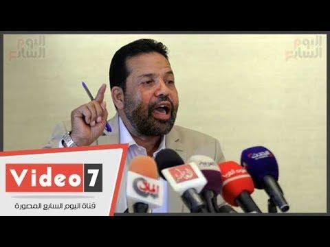 رجب هلال حميدة يستقيل من حزب سامى عنان.. ويؤكد: يستعين بالهاربين والإخوان