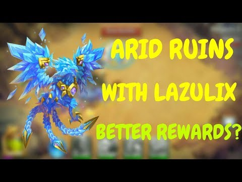 Arid Ruins With Lazulix L Are The Rewards Better? L Castle Clash