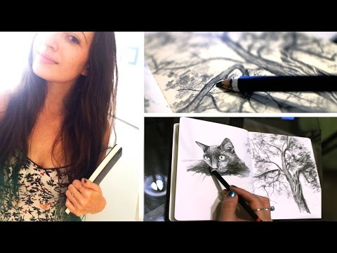 New Sketchbook | Goodbye Art Studio | Lena's Art Diary #12