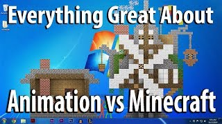 """Everything Great About """"Animation vs Minecraft"""" In 10 Minutes Or Less"""