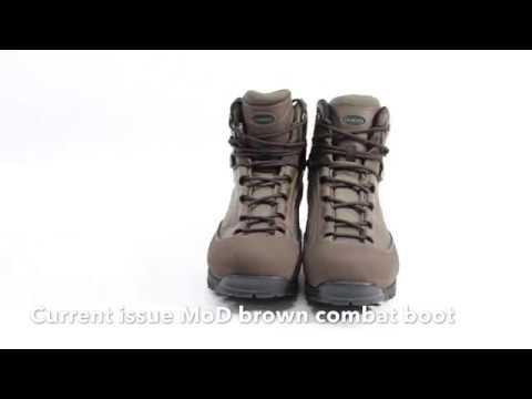 AKU Pilgrim GTX Combat Brown Mod