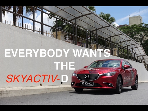 The Best Japanese D Segment Car You Can Buy? Mazda 6 SKYACTIV-D 2.2L Diesel Review