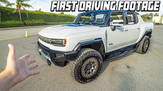 BUYING THE ALL-NEW $112,000 HUMMER EV SUPERTRUCK! *EXCLUSIVE HANDS-ON*