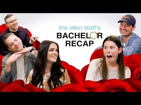 The Ellen Staff's 'Bachelor' Recap Special: Raven & Adam are Here!