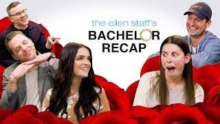 The Ellen Staff's 'Bachelor' Recap Special: Raven & Adam are Here!