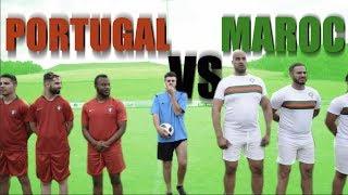 PORTUGAL vs MAROC