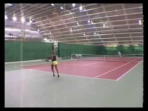 Valeria Popko College Tennis