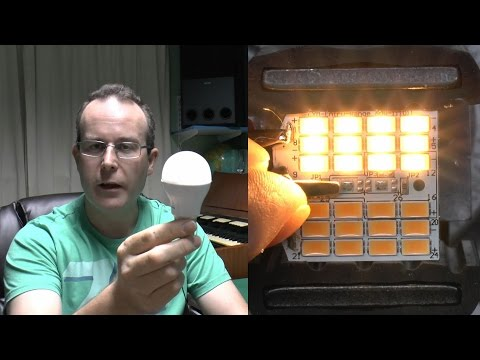 Philips LED Lamp 9.5W Teardown