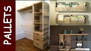 Top Estantes E Prateleiras de Pallets e Caixotes - shelves recycled pallets