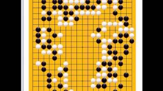 囲碁棋譜再現355局目 ●張栩 ○中小野田智己 第57回NHK杯2回戦 Go Game