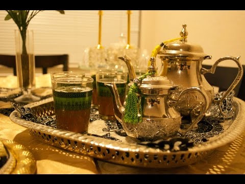 How to make Moroccan Mint Tea the traditional way