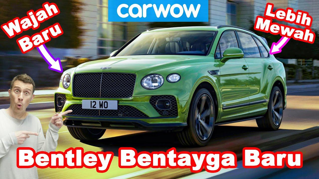 Bentley Bentayga 2021 Baru - lebih mewah daripada Rolls-Royce Cullinan?