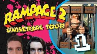 Rampage 2 - Universal Tour: SAVE GEORGE!! - Ep1, MTW