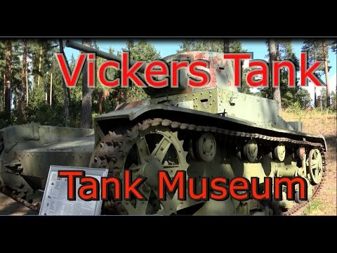 Vickers Armstrongs 6 Ton Tank-  World War II tank