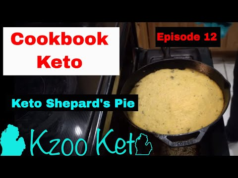 Cookbook Keto | Keto Shepherd's Pie | E 12 | Recipe From Hip2Keto.com