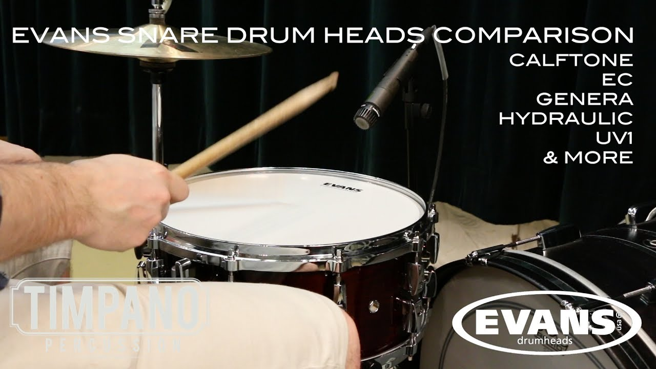 ultimate evans snare drum heads comparison timpano percussion youtube. Black Bedroom Furniture Sets. Home Design Ideas