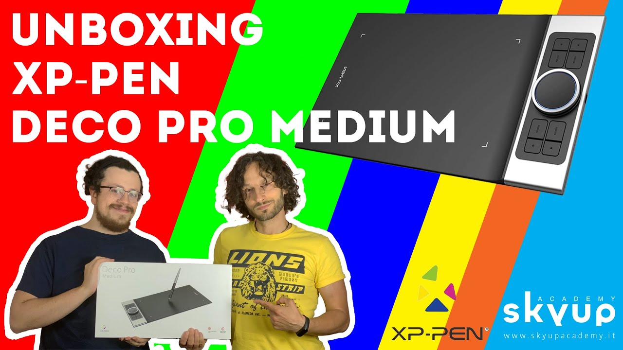 Unboxing XP-PEN Deco Pro Medium by SkyUp Academy