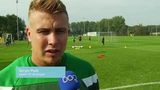 FC Groningen vol goede moed richting zondag