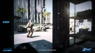 Battlefield 3 PC Gameplay Max Settings Asus GTX 590