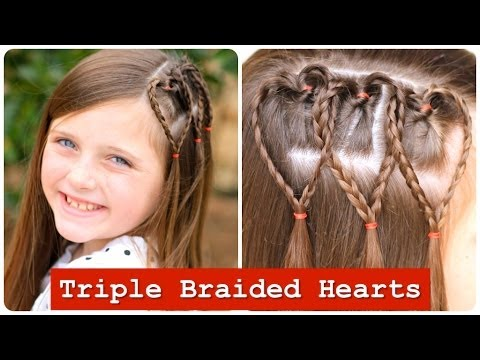 triple-braided-hearts-|-valentines-day-hairstyles