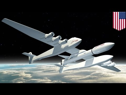World's largest aircraft Stratolaunch to launch rockets into space - TomoNews