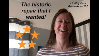 """The Historic Repair that I Wanted!"" A 1923 plaster ceiling gets new life!"