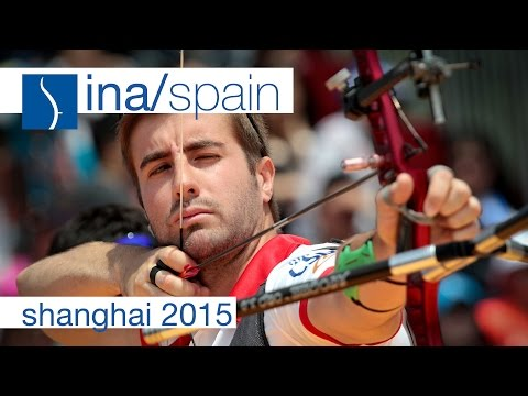 Indonesia v Spain– Recurve Men's Team Bronze Final | Shanghai 2015