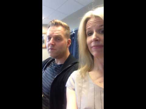 Matthew West with Beth on 1047 The Fish doing an impromptu Mothers Day song Let her sleep