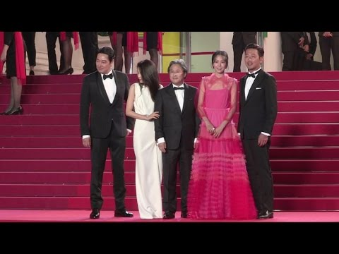 Director Park Chan-Wook and more attend the Premiere of The Handmaiden at the Cannes Film Festival