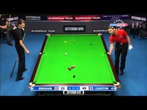 Ryan Causton - Stuart Bingham (Frame 1) Snooker Rotterdam Open 2013