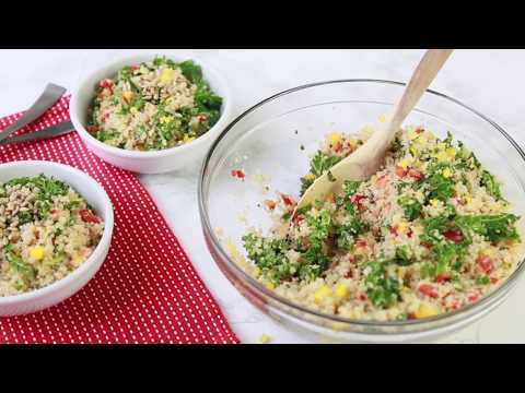 Clean Eating Quinoa Salad