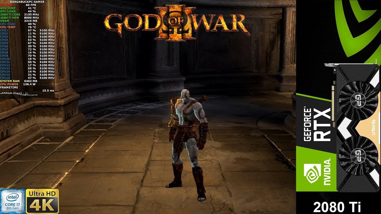 God Of War 3 4K RPCS3 Emulator | RTX 2080 Ti | i9 9900K 5 1GHz