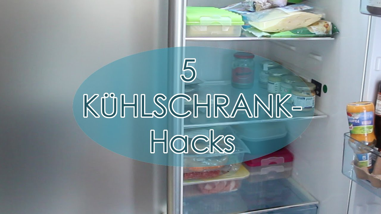5 geniale life hacks k hlschrank mehr ordnung und bersicht fridge hacks t glichmama youtube. Black Bedroom Furniture Sets. Home Design Ideas