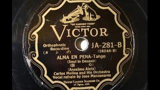 Carlos Morina - Alma en Pena 傷心 (Tango)