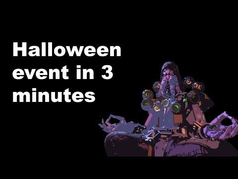 The Overwatch Halloween event described in 3 minutes