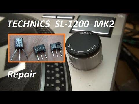 Technics SL-1200 MK2 repair