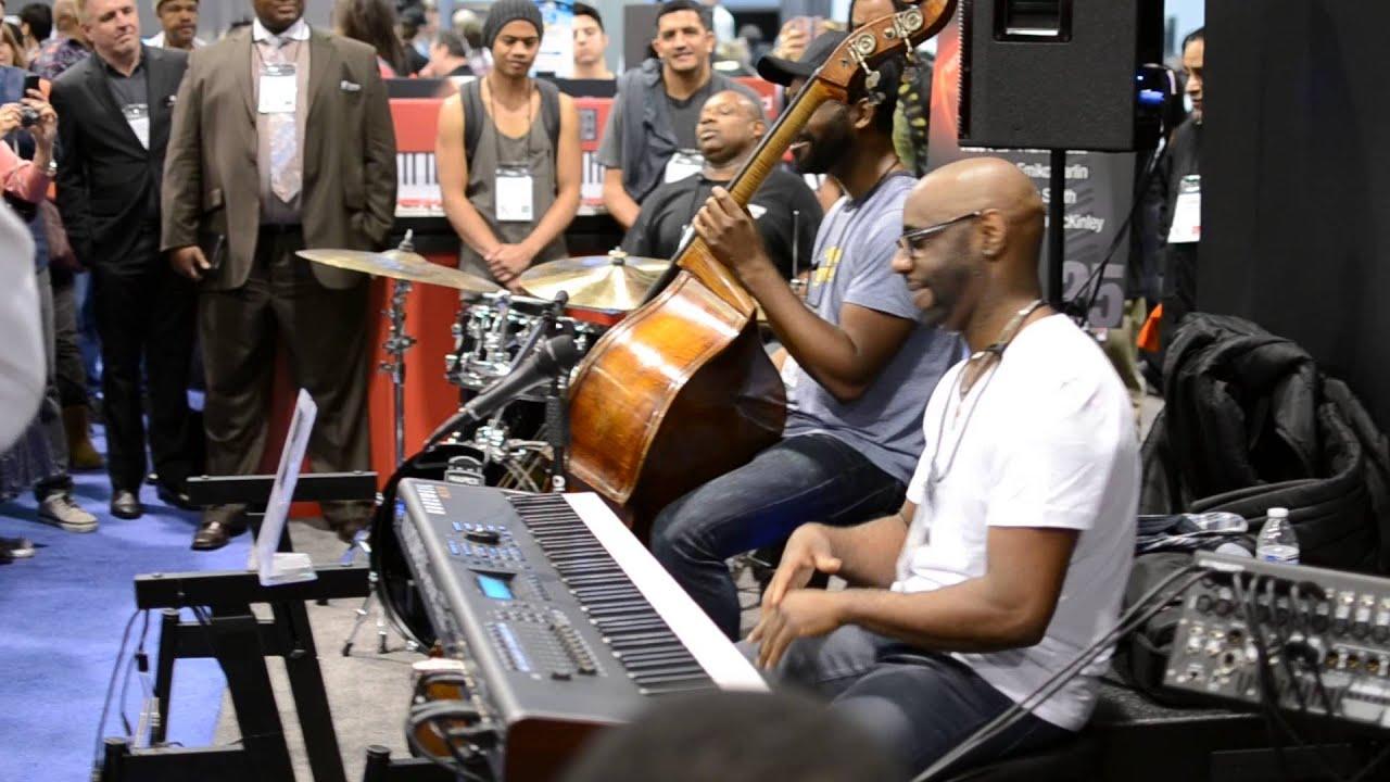 Myron McKinley Trio NAMM 2014 (McKinley, Martin, Sydnor)