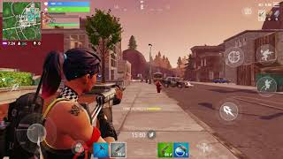 Fortnite (mobile) 7 clay 50vs50 taxi driver skin tried